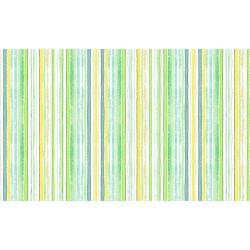 Watercolour Stripes - GREEN