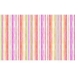 Watercolour Stripes - PINK