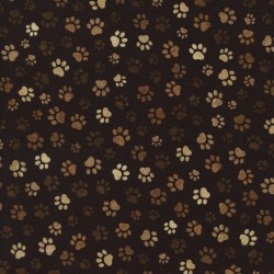 Pawprints - BROWN