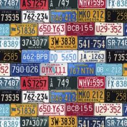 Number Plates - MULTI
