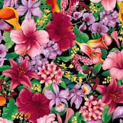 Large tropical floral - TROPIC