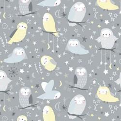 SLEEPY OWLS - GREY