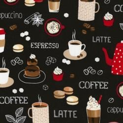 Coffee Blackboard - BLACK