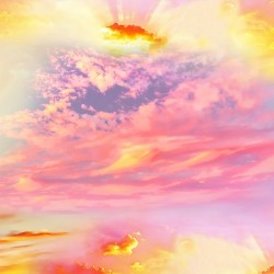 Light Sunset Sky