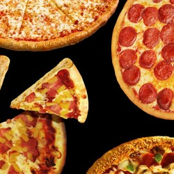 Pizza - BLACK