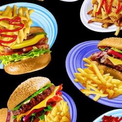 Burgers - BLACK