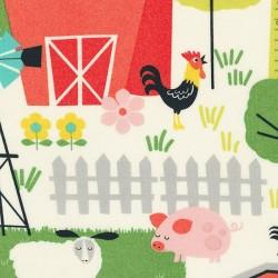 Farm Scene - CREAM