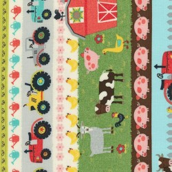 Farm Scenic Stripe - MULTI