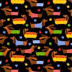 Sausage dogs - BLACK