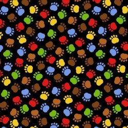 Pawprints - BLACK