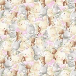 Teddies & Bunnies - MULTI