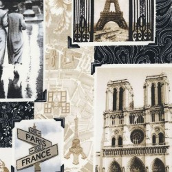Paris Collage - ANTIQUE