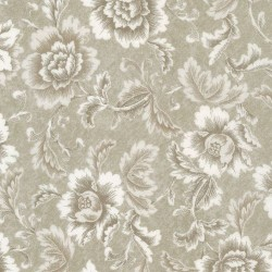 Large Floral - TAUPE