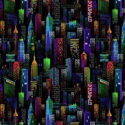 New York Nightscape - BLACK
