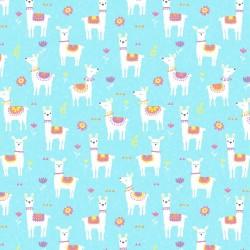 Alpacas & Flowers - AQUA