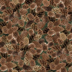 Pine Cones - BROWN