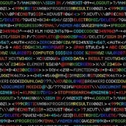 Rainbow Coding - BLACK