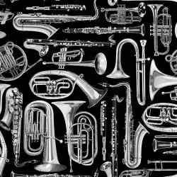 Brass Instruments - BLACK
