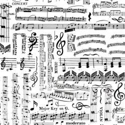 Music Collage - WHITE