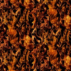 Flames - BLACK