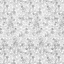 Dotted Scroll - WHITE