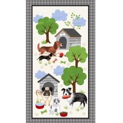 A Dog's Life Panel (60cm)