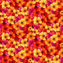 Floral - ORANGE
