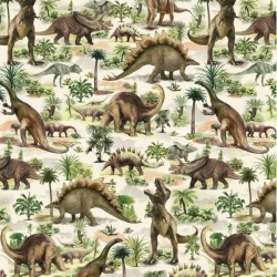All Over Dinosaurs - MULTI