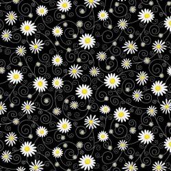 Daisies - BLACK