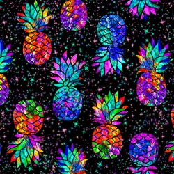 Electric Pineapple - BLACK