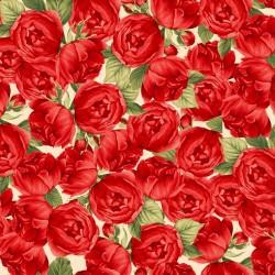 Allover Roses - CREAM