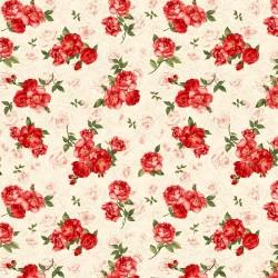 Rose Toile - CREAM