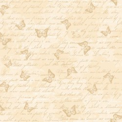 Butterfly Toile - CREAM