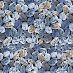 Inspirational Stones - BLUE