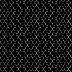Chicken Coop Wire - BLACK