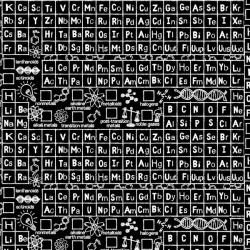 Periodic Table - BLACK