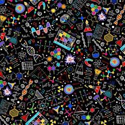 Bright Science Doodles - BLACK