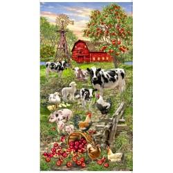 Panel - Animals On The Farm (60cm) - MULTI