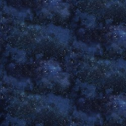 Twinkling Night Sky - NAVY