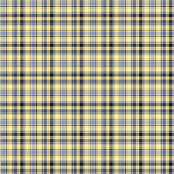 Yellow Star Plaid - YELLOW