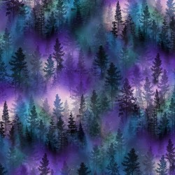 Aurora Trees - PURPLE