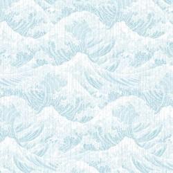 Digital Japanese Wave Print - POWDER