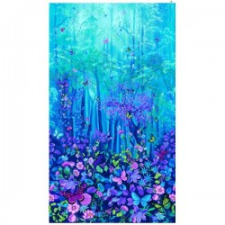 Panel  - Forest Magic 60cm - BLUE