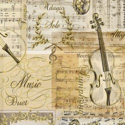 Music Collage - ANTIQUE