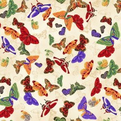 Butterflies - CREAM/GOLD