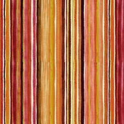 Peony Metallic Stripes - MULTI