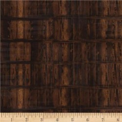 WEATHERED WOOD - BROWN