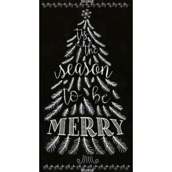 CHALKBOARD TREE-PIANO - Panel 60cm