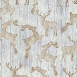 Wooden Deer Silhouttes