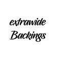 WIDE BACKINGS